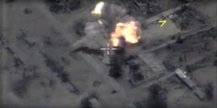 Con raid aerei a nordest di Palmira