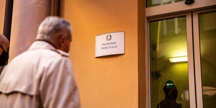 L'aula a numero chiuso per le restrizioni della pandemia