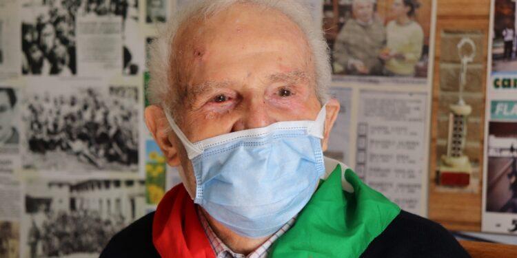 A 96 anni Maffeo Marinelli ha ricevuto prima dose di Moderna