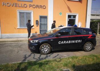 Carabinieri della compagnia di Cantù