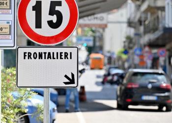 La dogana tra Italia e Svizzera