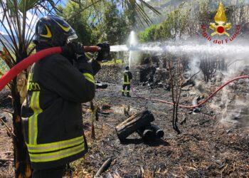 incendio Carate Urio