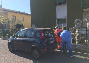 I vaccini a domicilio a Olgiate Comasco