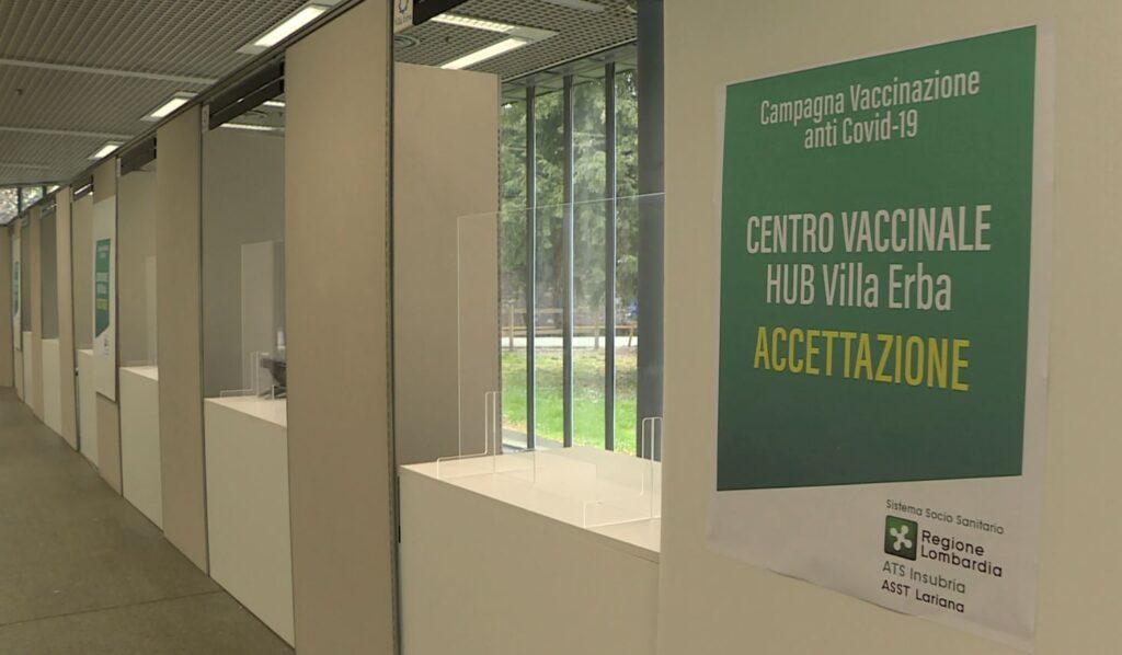 centro vaccinale villa erba