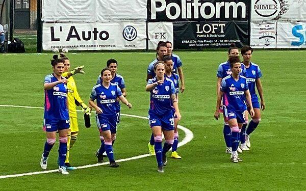 La squadra del Como femminile