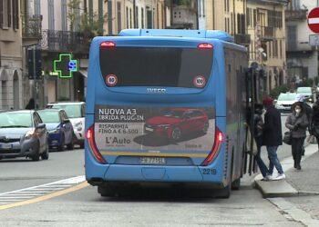 Un autobus a Como
