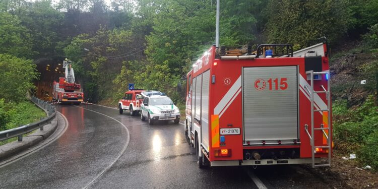 controlli vigili del fuoco via per san fermo