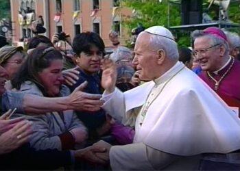 visita di San Giovanni Paolo II a Como