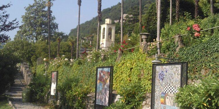 parco mosaici di Blevio