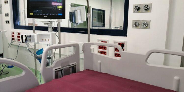 Continua calo dei ricoverati in ospedale