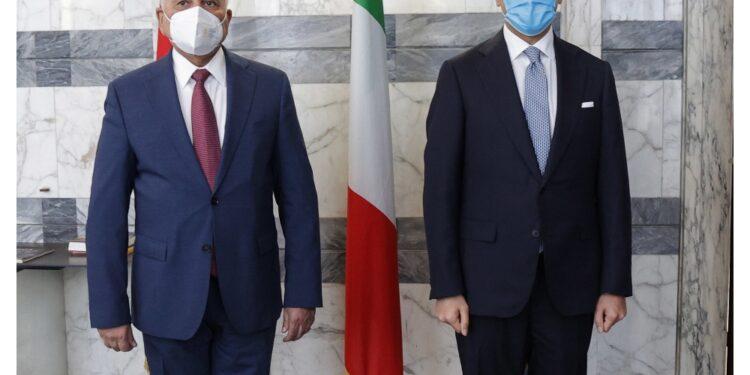 Il ministro a colloquio con l'omologo iracheno alla Farnesina
