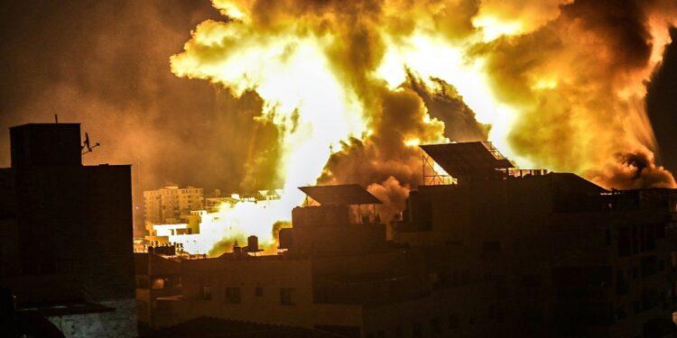 In nove giorni di bombardamenti. I feriti sono 1.400