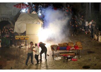 Incidenti soprattutto alla Porta di Damasco