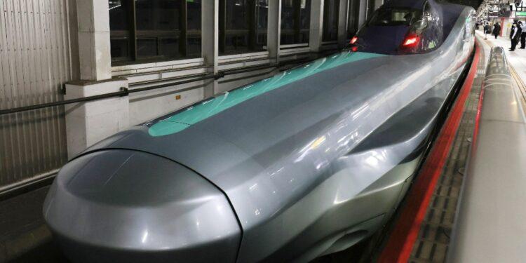 Lo Shinkansen viaggiava a 150 km orari