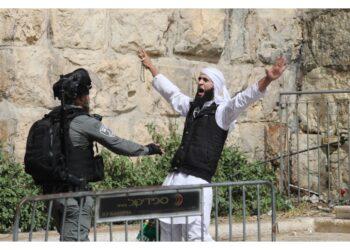In solidarietà Moschea al Aqsa e Sheikh Jarrah a Gerusalemme
