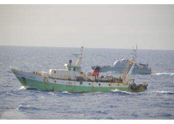 Mitragliato giovedì da motovedetta libica