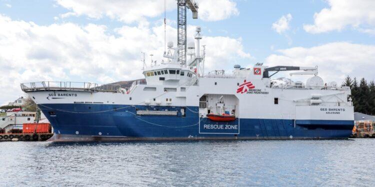Ong pronta ad operare nel Mediterraneo con la nave Geo Barents