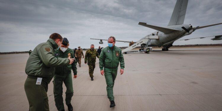 Dispiegati quattro F35 dell'aeronautica militare