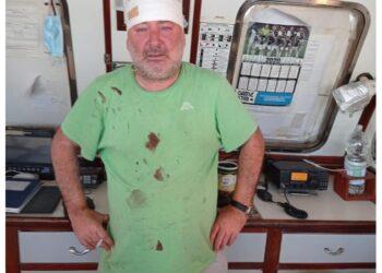 Giuseppe Giacalone è rimasto ferito dopo mitragliamento libico