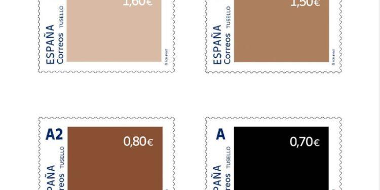 Lanciati francobolli con prezzi diversi a seconda del colore