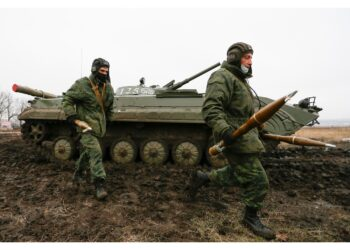 In scontri con miliziani separatisti filo-russi