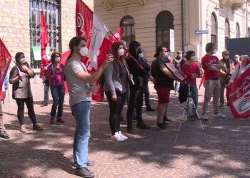 Manifestazione Como senza frontiere