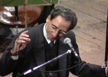 Franco Battiato al Teatro Sociale di Como nel 1994