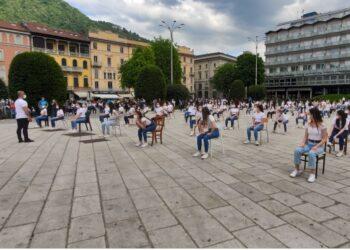 evento ballerini piazza cavour