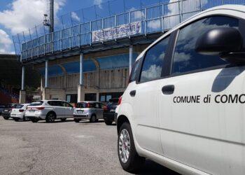auto comune como allo stadio