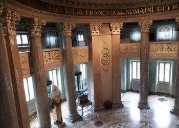 Tempio Voltiano restaurato