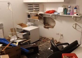 l'ufficio dell'associazione noivoiloro messo sotto sopra dai ladri