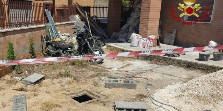 Incidente in cantiere