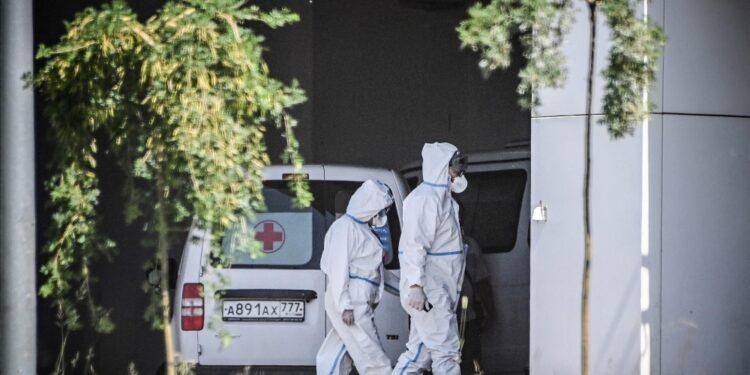A Mosca 9.000 nuovi contagi