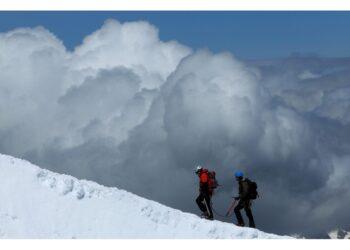 Su lato francese Monte Bianco