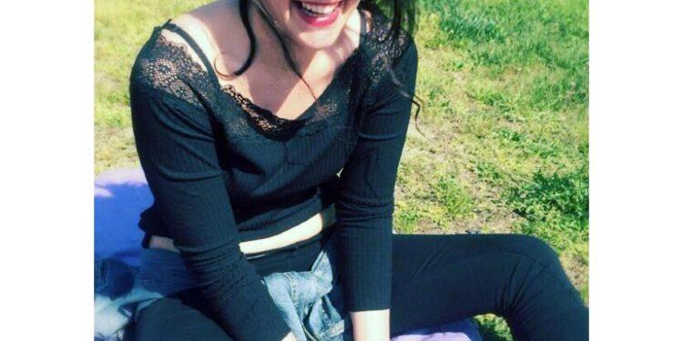 Palloncini bianchi per Sabrina Beccalli
