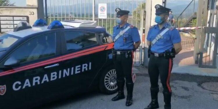 Carabinieri trovano bossolo