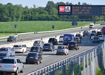autostrada A9 milano como chiasso coda