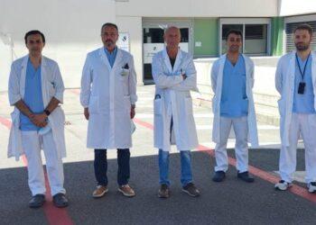 l'equipe che ha effettuato l'intervento