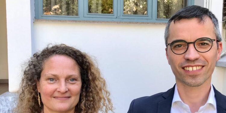 Gabriele Maspero e Anna Franchini