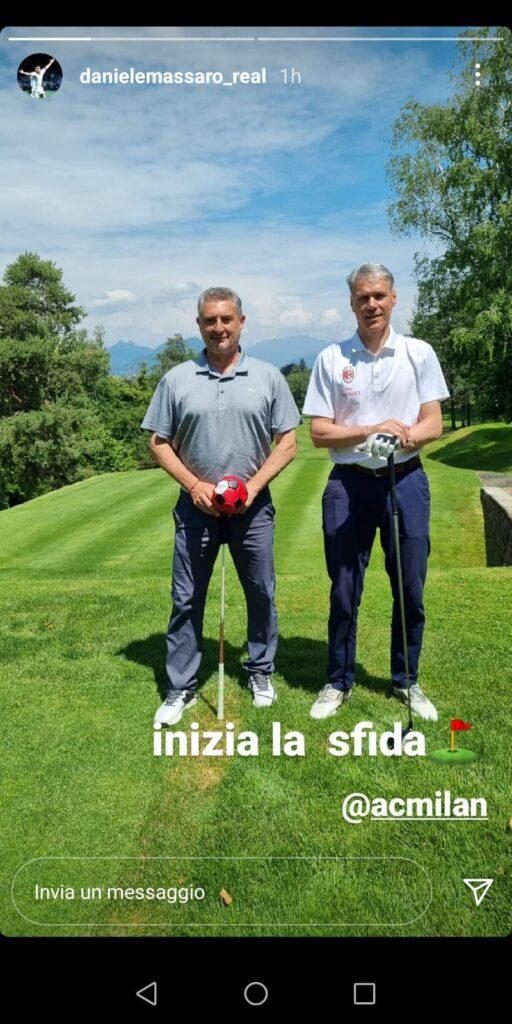 Van Basten e Massaro