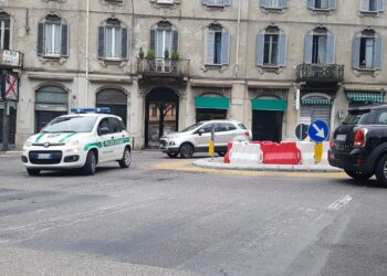 Rotatoria definitiva di piazza San Rocco