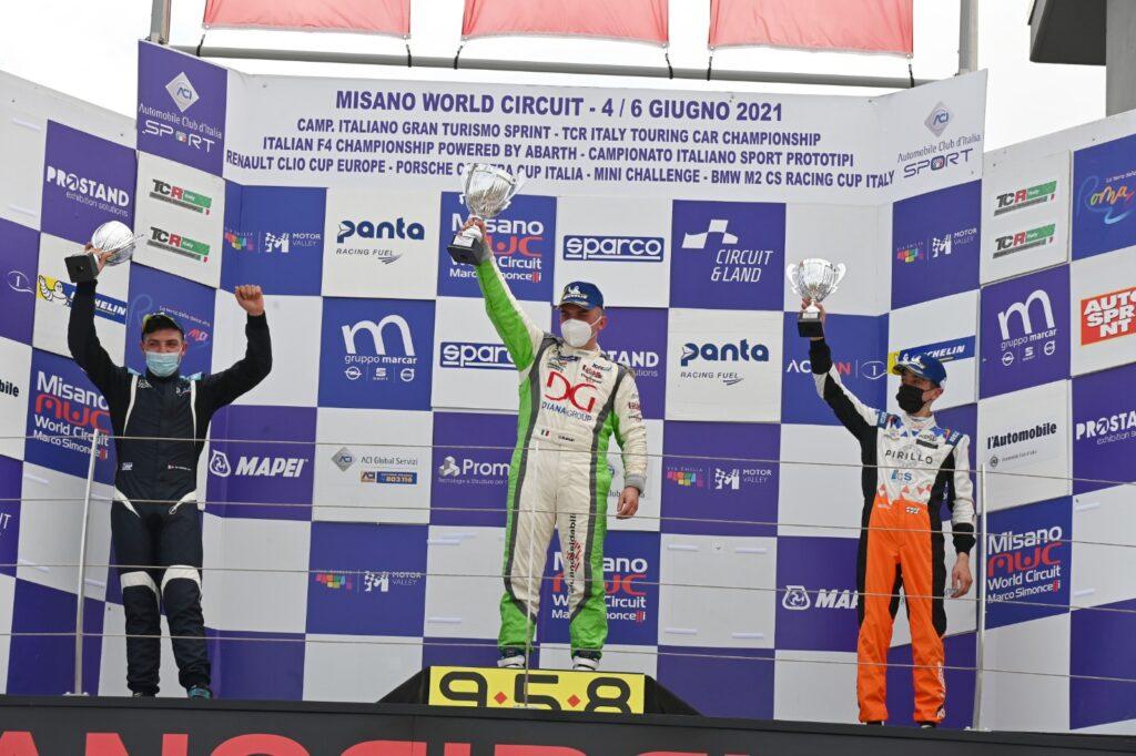 marco butti pilota comasco campionato italiano touring