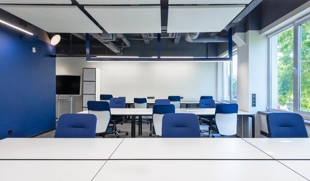 sala ufficio vuoto