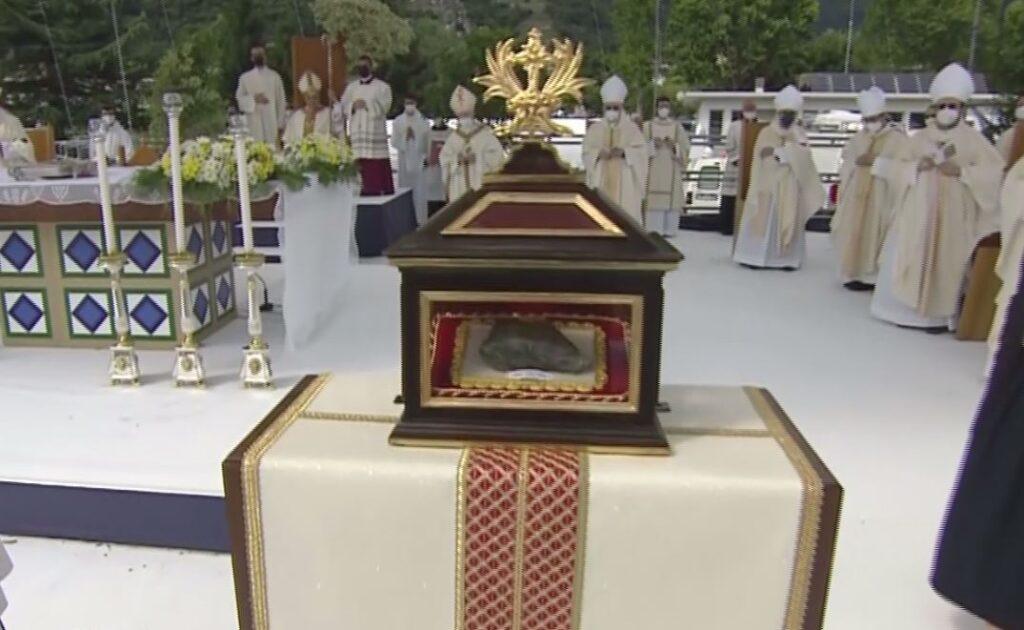 teca reliquia suor maria laura