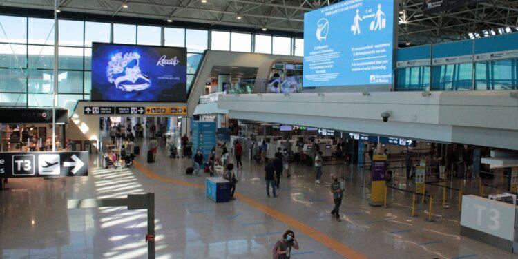 Bochicchio arrivato a Fiumicino con volo di linea da Doha