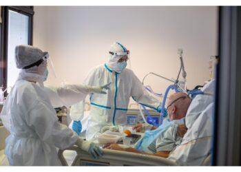In terapia intensiva ci sono quattro pazienti in più di ieri