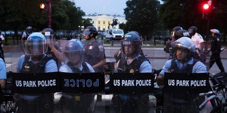 Durante proteste del giugno 2020