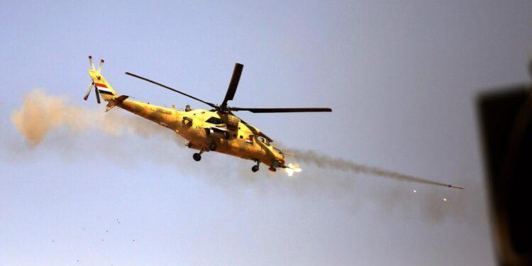 Era impegnato in una missione a sud di Kirkuk