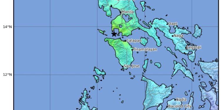 Colpita l'isola principale di Luzon a 90 Km da Manila