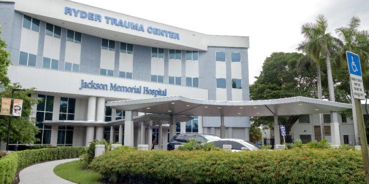Martine Moise convalescente in ospedale di Miami